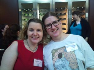 Cheryse Durrant & Deborah Green at GenreCon 2012