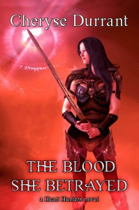 The Blood She Betrayed front cover