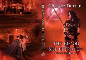The Blood She Betrayed wrap-around cover