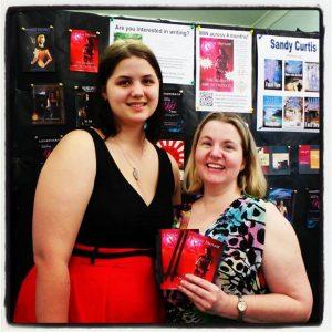 Miranda Schuch & Cheryse Durrant at the Bargara Strawberry Fair